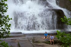 Outside Things to Do near Asheville, North Carolina. How about a picnic by a waterfall?