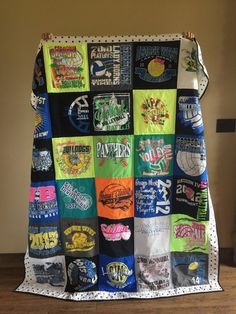 The comfiest and best way to keep your memories from all the t-shirts you made your parents buy you in high school... at least in my opinion. Get yours today in my Etsy Shop!
