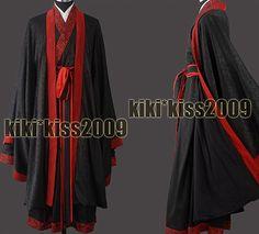 c97510f169 China HanFu Kimono Men s Festival Black CustomMade