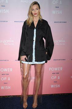 モデルのアンニャルービック自身のファッション感を語る