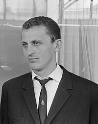 CHILE 1962, de HUNGRÍA, Flórián Albert GOL 4