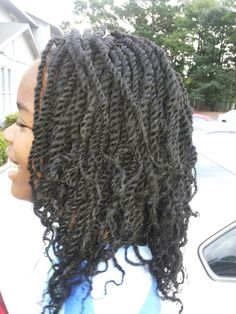 Crochet Braids Questions And Answers : Another great crochet braids demo (using either Freetress water wave ...