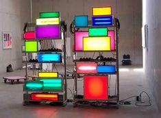 Installatie van kunstenaar David Batchelor