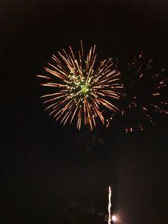 Kempton fair firework
