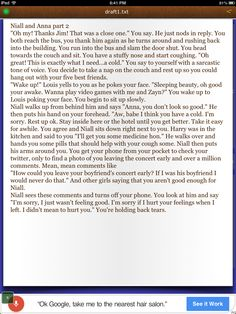 Niall and Anna part 2 Niall Horan fanfic