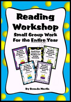 Reading Workshop Small Group Work for the Entire Year from Brenda Martin on TeachersNotebook.com (264 pages)  - An entire year of small group work for the big kids!