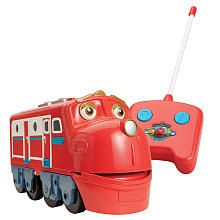 """Chuggington Remote Control Wilson - 4 STARS - """"He took to it right away. Once he got help removing it from its secure packaging that is. Then he was off using it right away. No one needed to tell him. From a 2yr old perspective that is a great review. I'm not saying he was great at it, but fun was being had. I'm sure he will get better at it as he plays with it more. Was a great gift choice!"""""""