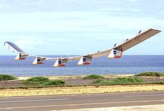 Helios, avión solar de la NASA