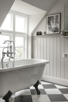 White Wood Wall Bathroom - Are you looking for some interior trimming ideas for home? There is no doubt that home is a agreed important place. Grey Bathrooms, White Bathroom, Bathroom Interior, Modern Bathroom, Small Bathroom, Bathroom Furniture, Bathroom Laundry, Bathroom Plants, Rustic Bathrooms