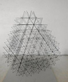 Incredible Geometric Pencil Lead Sculptures - My Modern Met