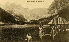Mała Łąka w Tatrach - Górale i Tatry na starych fotografiach
