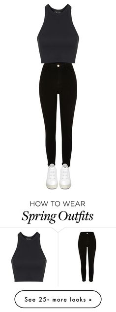 """""""Spring outfit"""" by lilylove2005 on Polyvore featuring Topshop and Off-White"""