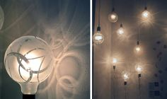 how pretty! etched lightbulbs.... i'm gonna try it!