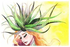Aloe Crown by primiita.deviantart.com on @deviantART