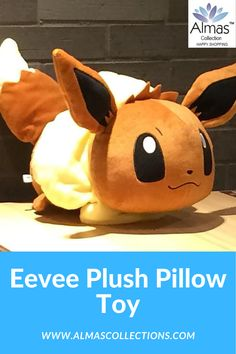 New Eevee Plush Pillow Toy Birthday Gifts For Boys, Friend Birthday Gifts, Gifts For Kids, Baby Toys, Kids Toys, Pokemon Decor, Pokemon Plush, Plush Pillow, Infant Activities