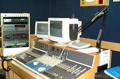 Radio Station Studio!