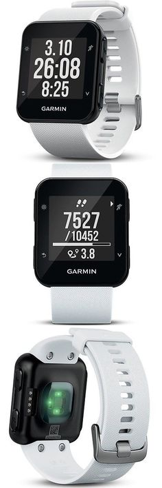 GPS and Running Watches 75230: Garmin Forerunner 35 Fitness Gps Running Watch With Hrm White Edition -> BUY IT NOW ONLY: $175.72 on eBay!