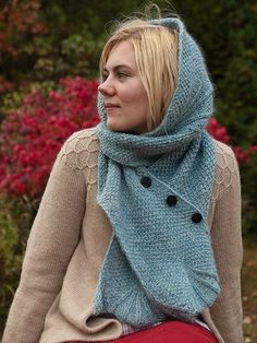"freyastormborn: "" lightsharpnesssong: "" Knitting Inspiration: hoods. Like, fairy tale hoods. I read somewhere that ""capes are in"" this year and, while I don't give a flying fuck about that sort of..."
