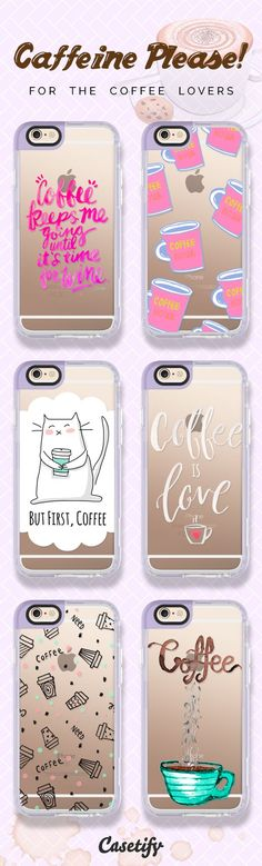 More caffeine please! For the coffee lovers. Click here to shop the featured iPhone 6 cases >>> https://www.casetify.com/artworks/gFBa8gHHZT | @casetify