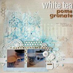 White Tea by Riikka Kovasin for Life.Paper.Scrapbook.