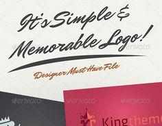 "Check out new work on my @Behance portfolio: ""Modern King Logo Kit"" http://be.net/gallery/36327709/Modern-King-Logo-Kit"