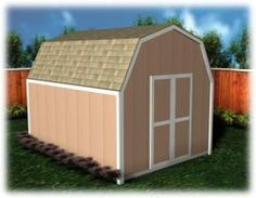 Every Shed Plan includes two different design levels to fit any budget or taste.