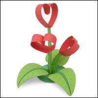 20 Beautiful DIY Paper Craft Step by Step Tutorials - ArtsyCraftsyDad Mothers Day Crafts, Valentine Day Crafts, Diy And Crafts, Crafts For Kids, Arts And Crafts, Diy Paper, Paper Crafts, Heart Crafts, Spring Crafts