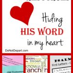 Bible Memory Resources