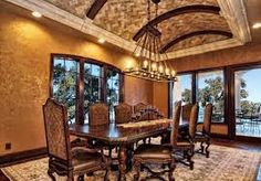 tuscan dining room - Google Search
