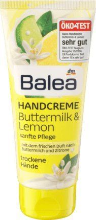 Balea Handcreme Buttermilk & Lemon, 100 ml - ÖKO-TEST SEHR GUT
