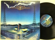 Journey Raised On Radio Columbia QC 39936 LP Vinyl Record Album