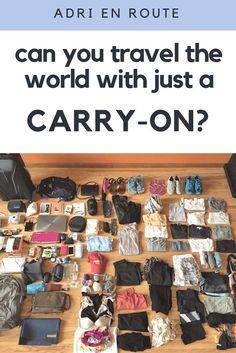 A Sort of Minimalist Girl's Long Term Travel Packing List | Adri En Route