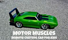 Toy State Motor Muscles R/C Car. Great starter RC for Kids for under $20. sponsored Review: http://momalwaysfindsout.com/2013/11/rc-cars-for-kids/