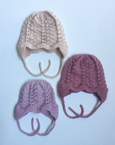 Ravelry: Anemone Hat pattern by Anne Dresow Baby Knitting Patterns, Knitting For Kids, Hue, Knitted Hats, Crochet Hats, Baby Barn, Baby Bonnets, Kids Hats, Baby Girl Dresses
