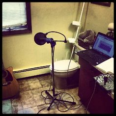 Love home recording studios, bathrooms always have the best acoustics