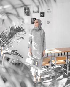 Casual Hijab Outfit, Ootd Hijab, Hijab Chic, Denim Outfit, Muslim Fashion, Hijab Fashion, Fashion Outfits, Womens Fashion, Fashion Ideas