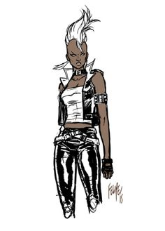 Ororo Munroe by Felipe Smith.