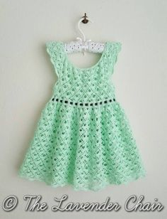Gemstone Lace Dress - Free Crochet Pattern - The Lavender Chair 2