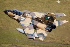 RAF tornado in RSA colours