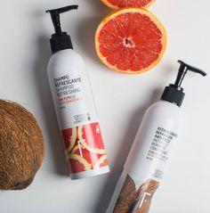Cuida tu cabello con el mejor Haircare Detox Plan de Freshly Cosmetics   Cosmética 100% natural Detox Plan, Grapefruit, Shampoo, Hair Care, How To Plan, Bts, Shampoo And Conditioner, Hair Growth, Dandruff