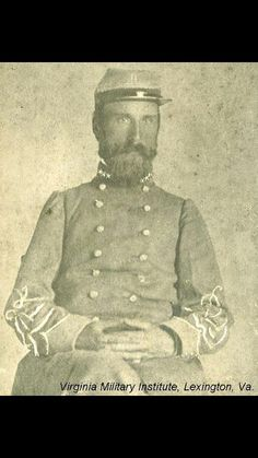 Lt. Colonel Samuel T. Walker 10th Virginia Infantry