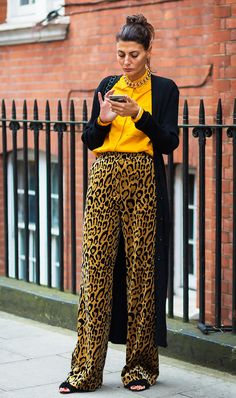 Animal Print Is Back—Here's How to Wear It in 2016 via @WhoWhatWearUK