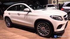 2017 Mercedes Benz GLE Class GLE 500 4Matic - Exterior Interior Walkarou...