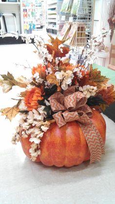 Kayla@michaels lisbon ct Large fall pumpkin!