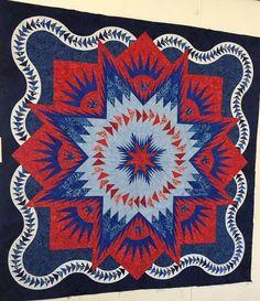 Glacier Star, Quiltworx.com, Made by CI Cindy Haddick