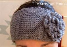 Free Crochet Knitted Headband Pattern - Bing Images