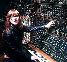 Hannah Peel has been in the studio this week recording an EP of her lovely songs with Mikey in the other room. We moved the Virtua upstairs. Motif Music, Foley Sound, Analog Synth, Recording Studio Design, Experimental Music, Recording Equipment, Studio Gear, Drum Machine, Music Images