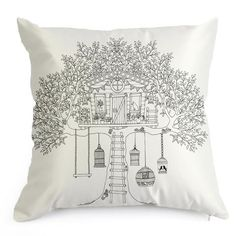 Calming Color in Cushions