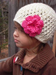 Toddler crochet beanie hat — Fotopedia