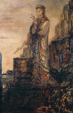 hesiod and the muse gustave moreau - Cerca con Google
